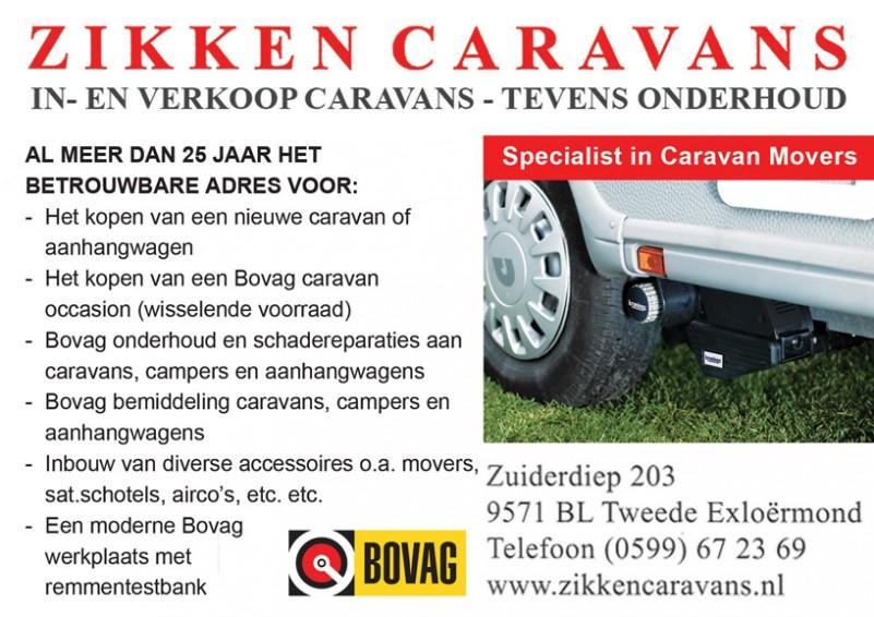 Zikken Caravans 2e Exloërmond